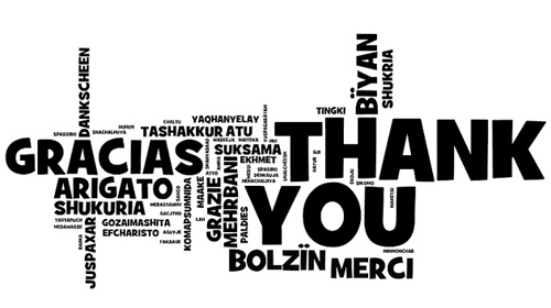 "Illustration of ""Thank You"""